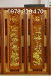 TRANH GỖ CAO CẤP - TRANH GỖ TỨ QUÝ - NQ04 - 107x37x3cm