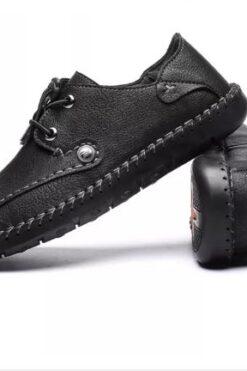 Giày Hàng Hiệu Thời Trang Người Đàn Ông Giày Da Nam Chất Lượng Cao Giày Da Giày Da Thật Giày Da Cho Nam Giới -GD41B