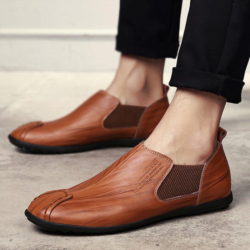 Giày tây nam hàng hiệu - Giầy lười nam hàng nhập khẩu - GD44P