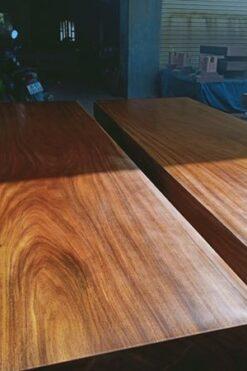 Sập gỗ lim 2 lá ( 380x240x20cm ) - TH102M - C