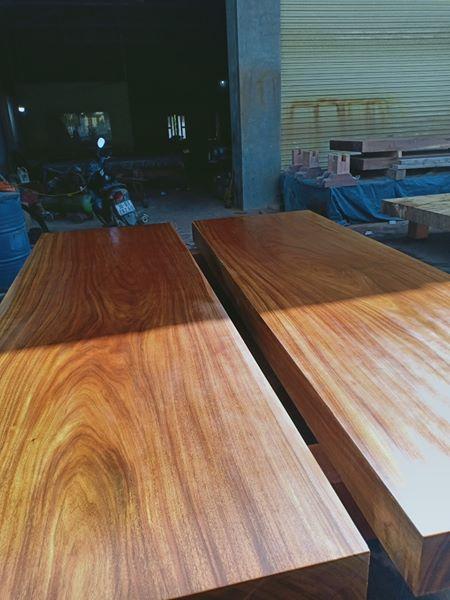 Sập gỗ lim 2 lá ( 380x240x20cm ) - TH102M