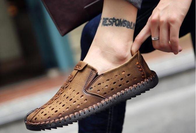 Chọn giày nam cao cấp - giày nam hàng hiệu - GD-05