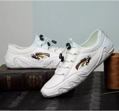 Giày lười nam hàng hiệu - Giày nam công sở mới nhất - GD56-02 - GD56A