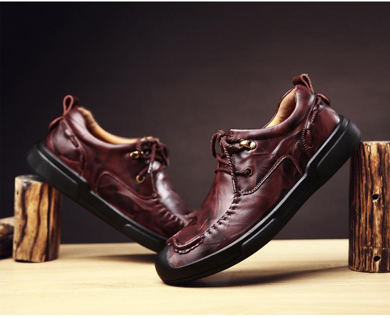 Giày lười nam nhập khẩu - Giày nam đẹp - giày nam sành điệu - GD65-29