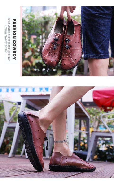 Giày nam phong cách - giày nam sành điệu - GD59-01