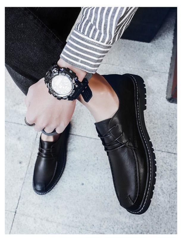 Mẫu giày nam đẹp nhất - giày nam công sở - GD51T