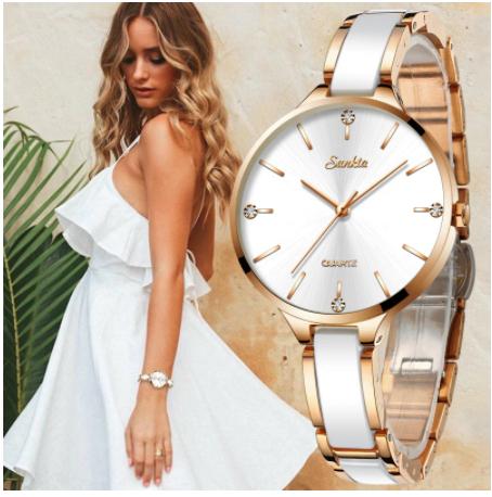 đồng hồ đeo tay nữ - đồng hồ chính hãng - DHN01ED
