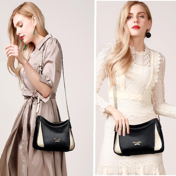 Túi xách nữ Golden Fox - túi đeo vai trung niên mới - túi xách sành điệu - TX133-15