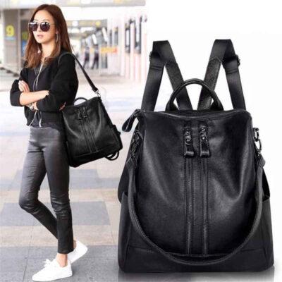 Thời Trang New Woman Backpack Cao Chất Lượng Thanh Niên Ba Lô Da cho Cô Gái Tuổi Teen Nữ Trường Shoulder Bag Bagpack mochil - TX111A