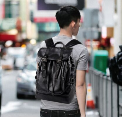 Balo nam hàng hiệu - kiểu đáng Hàn Quốc , giianhf cho sinh viên, học sinh - TX167A