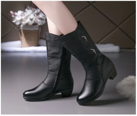 Giày boot nữ thời trang sành điệu - GN10B