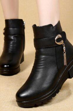 Giày thời trang nữ - giày boot sành điệu - GN12D