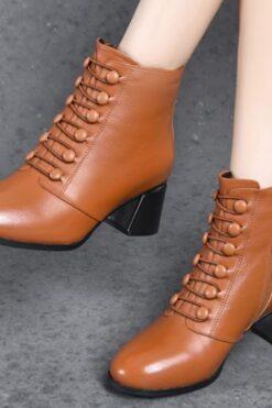 Mua Giày cao gót - boot thời trang cho các cô nàng dể thương - GN05F