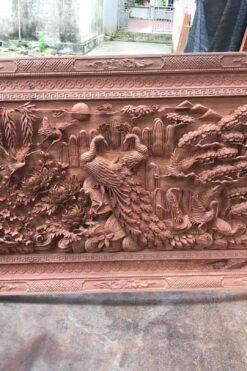 Tranh gỗ VIP - Tranh gỗ treo phòng khách - kich thước 107 x 117x10cm - TG83