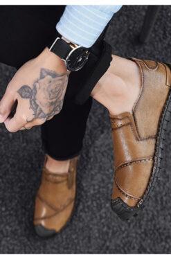 Chon mua giày thời trang- giày lười nam nhập khẩu - GD96F
