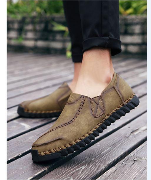 Giày nam mới mùa hè, giày thời thượng, giày nam hoang dã, giày da nam thời trang sành điệu, giày tây nam phiên bản hàn quốc, trẻ trung sành điệu - GD98 (5)