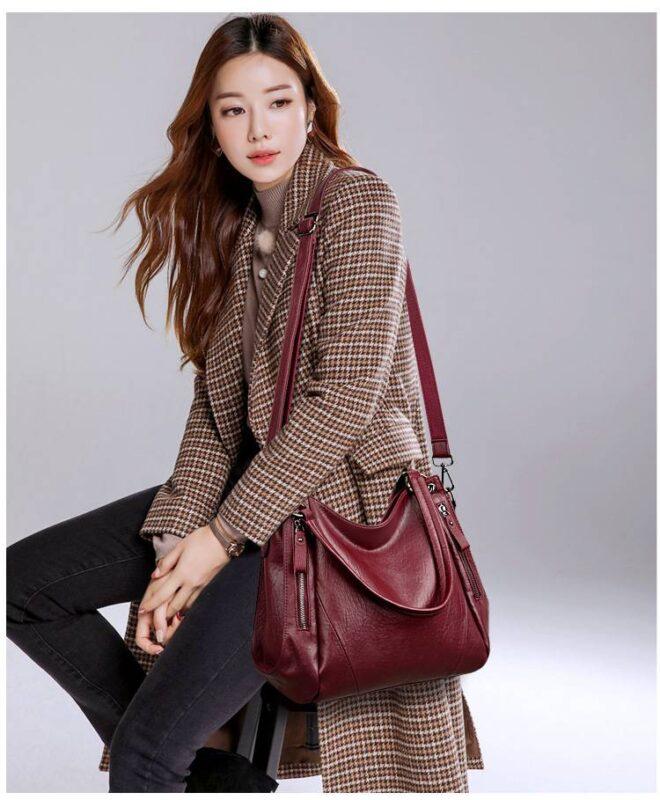 Túi xách công sở, túi xách sành điệu, túi xách đeo vai - STX62 (14)