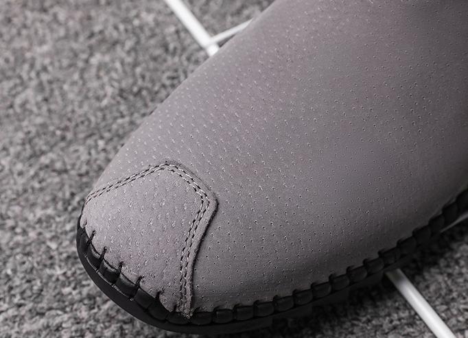 Peas shoes men's spring new men's shoes Korean casual leather -GD106 (20)