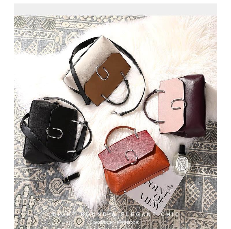 Túi xách hàng hiệu da thật - Malanaz shopping A