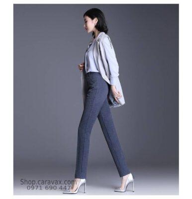 Quần âu nữ công sở hàng hiệu cao cấp Hà Nội - SQN09
