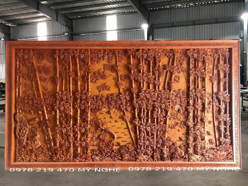 tranh-gỗ-trúc-điểu-trường-giang-khủng-2